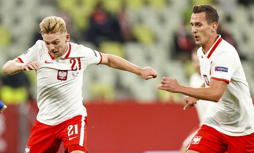 Kamil Jóźwiak w meczu z Węgrami strzelił gola i zaliczył asystę