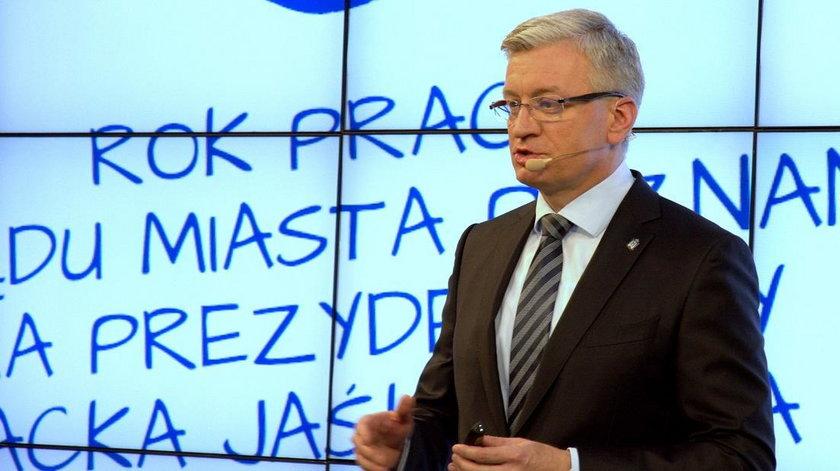 Wydali tysiące na imprezę podsumowującą rządy Jaśkowiaka