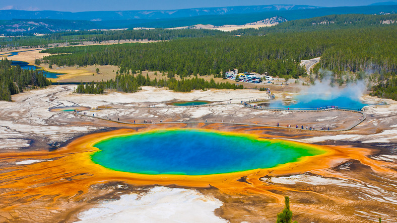 Grand Prismatic Spring, Park Narodowy Yellowstone