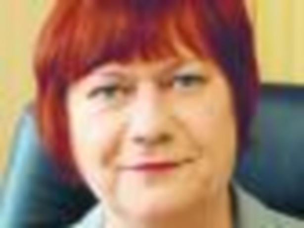 Maria Suszczyńska, p.o. dyrektora Izby Skarbowej w Białymstoku Fot. MATERIAŁY PRASOWE