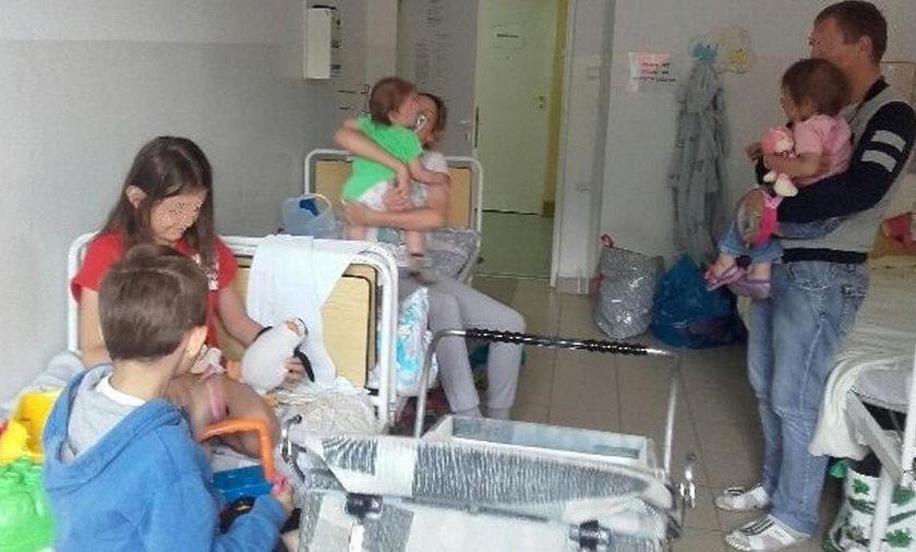 Rodzina imigrantów z Rosji ryzykowała życie w Bieszczadach