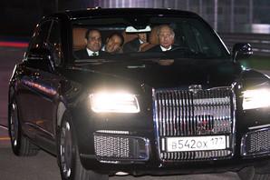 """PUTINOVA """"ZVER"""" NA ULICAMA BEOGRADA Sa ruskim predsednikom stiže i čuveni automobil, a evo zašto ga u Srbiji čuva """"samo"""" 50 RUSKIH SPECIJALACA"""