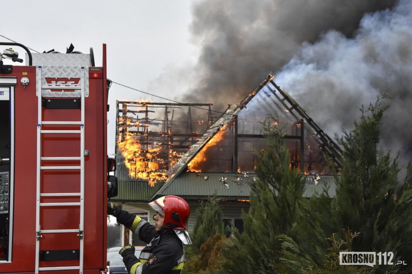 Pożary w Odrzykoniu