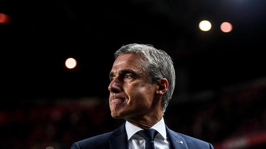 Luis Castro, trener Szachtara, nie ma powodów do zadowolenia