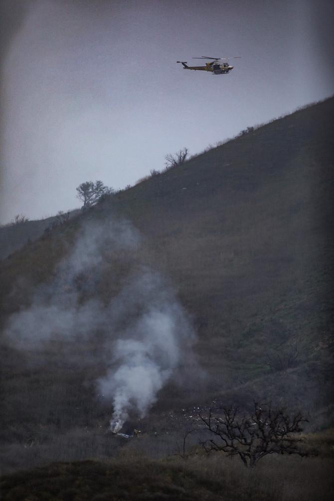 Prve slike sa mesta nesreće u kojoj je stradao Kobi Brajant