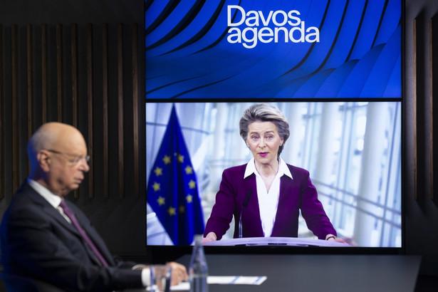 Ursula von der Leyen na szczycie w Davos