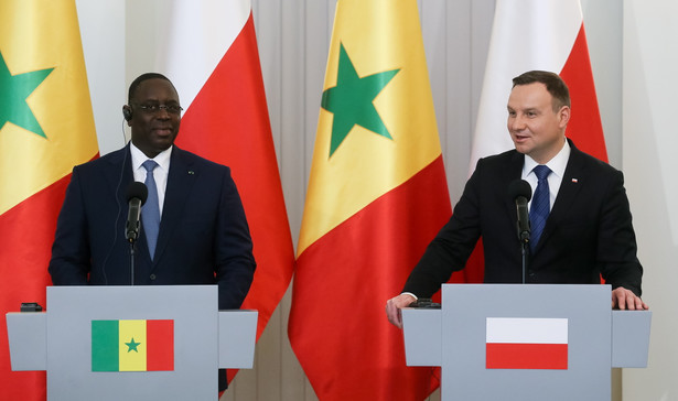 Wizyta prezydenta Republiki Senegalu Macky'ego Salla