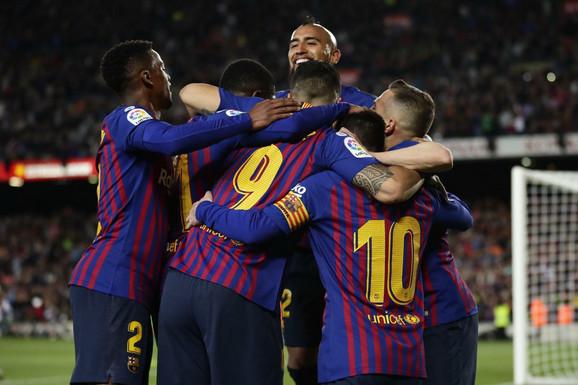 Novi/stari šampioni: Fudbaleri Barselone