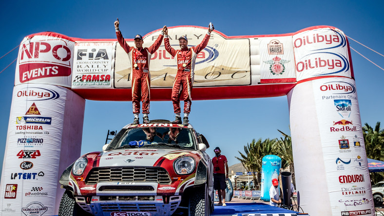 Rallye du Maroc 2015 - Nasser Al Attiyah i Mathieu Baumel - MINI ALL4 Racing