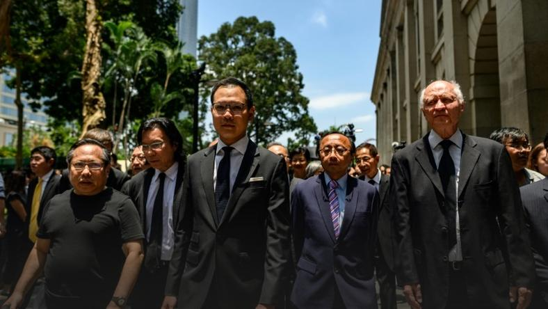Lawyers have now marched twice during Hong Kong's protests