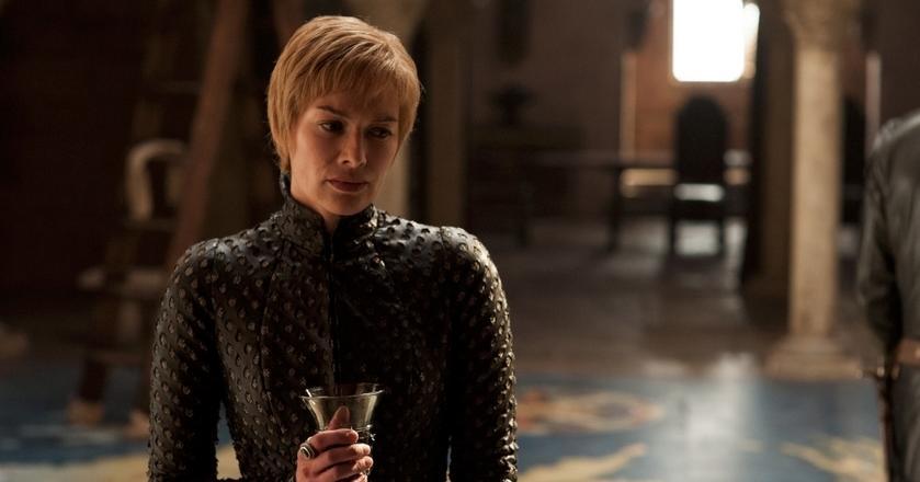 """Cersei Lannister jest jednym z czarnych charakterów w """"Grze o tron"""""""