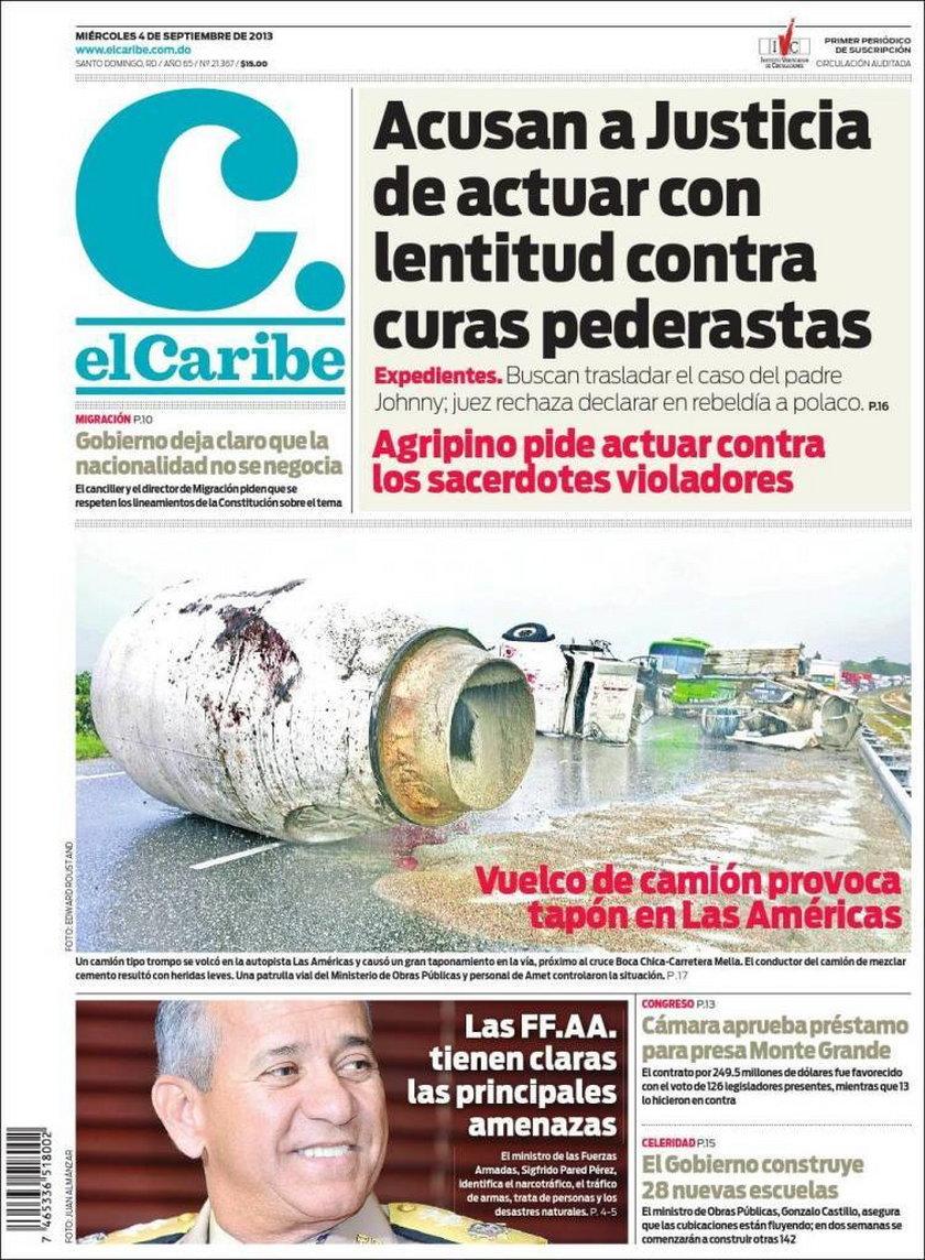 Dominikańskie gazety
