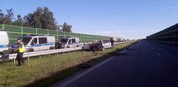 Wypadek na A1 pod Łodzią. Policja ma sprawcę