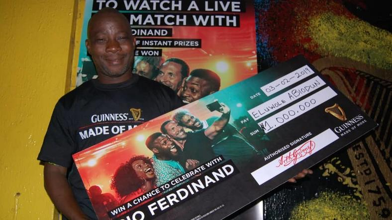 Guinness fans made of more: 5 more millionaires rewarded in Enugu, Ikorodu, Benin, Ile-ife