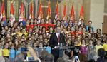 Vučić: Menjamo se, hrabro idemo iz mitologije u budućnost (VIDEO)