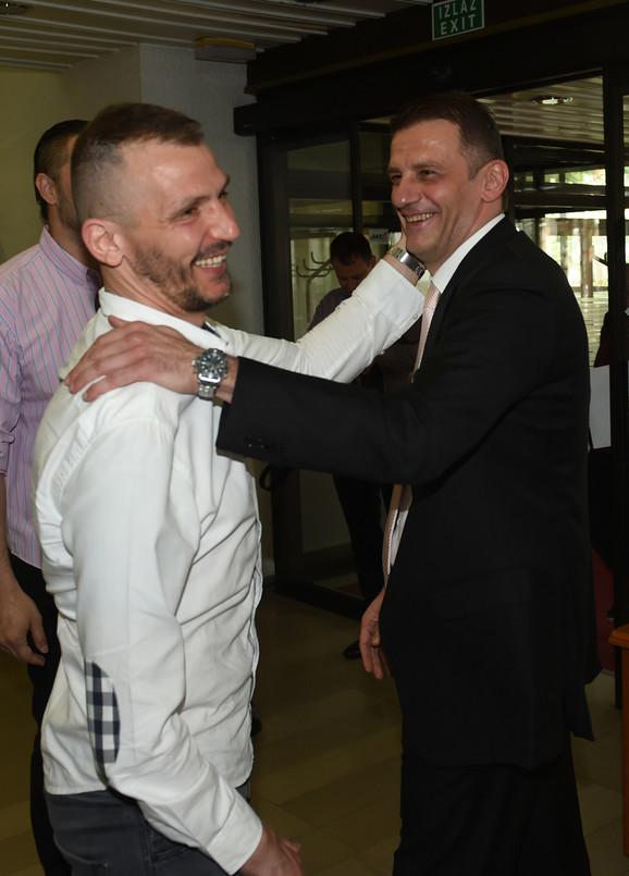 Danilo Ikodinović i Viktor Jelenić