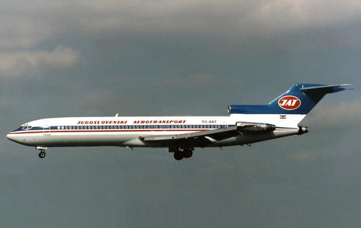 Otmica aviona01 YU-AKF B727-200 JAT foto Branko Habuš