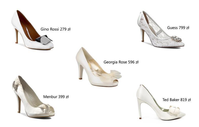 1e07eeca Buty ślubne – białe, srebrne, pudrowy róż. Jakie buty do ślubu ...