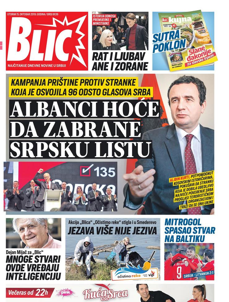 Naslovna za 15.10.