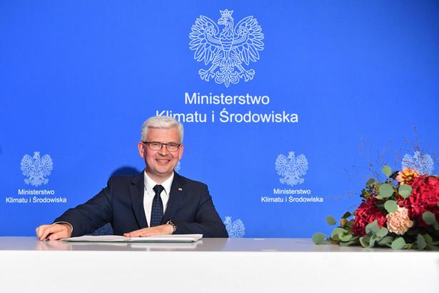 Ireneusz Zyska, sekretarz stanu w Ministerstwie Klimatu i Środowiska, pełnomocnik rządu ds. OZE