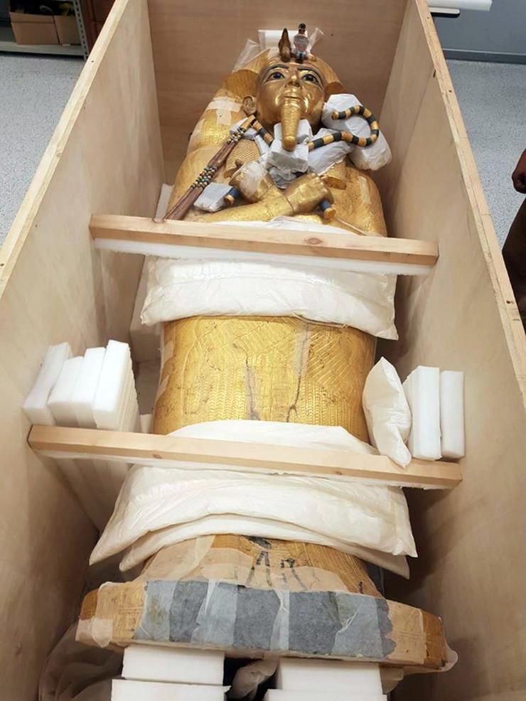 tutankamon foto EPA EGYPTIAN MINISTRY OF ANTIQUITIES