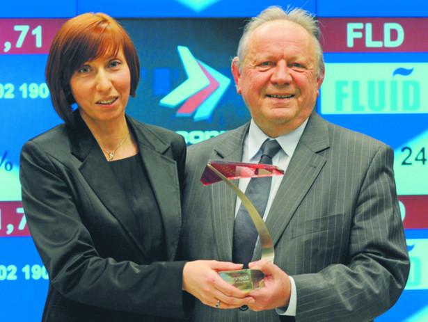 Fluid, którym kierują Marzena i Jan Gładcy, jest od 2011 r., notowany na giełdzie