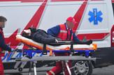 Novi Sad 609 saobracajna nesreca saobracajka hitna pomoc partizanska ulica i Sentandrejski put foto Robert Getel