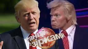 """Donald Trump sparodiowany w ukraińskim """"Tańcu z gwiazdami"""". Skandal?"""