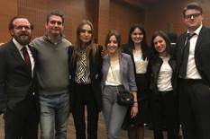Tim Novosadskog univerziteta na takmičenju u Frankfurtu