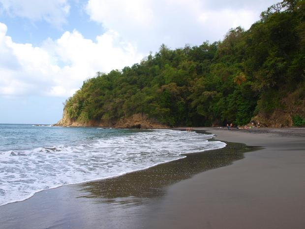 Plaża Anse Coulevre