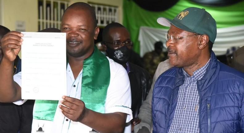 Ford Kenya's Simiyu Majimbo Kalasinga wins the Kabuchai by-election