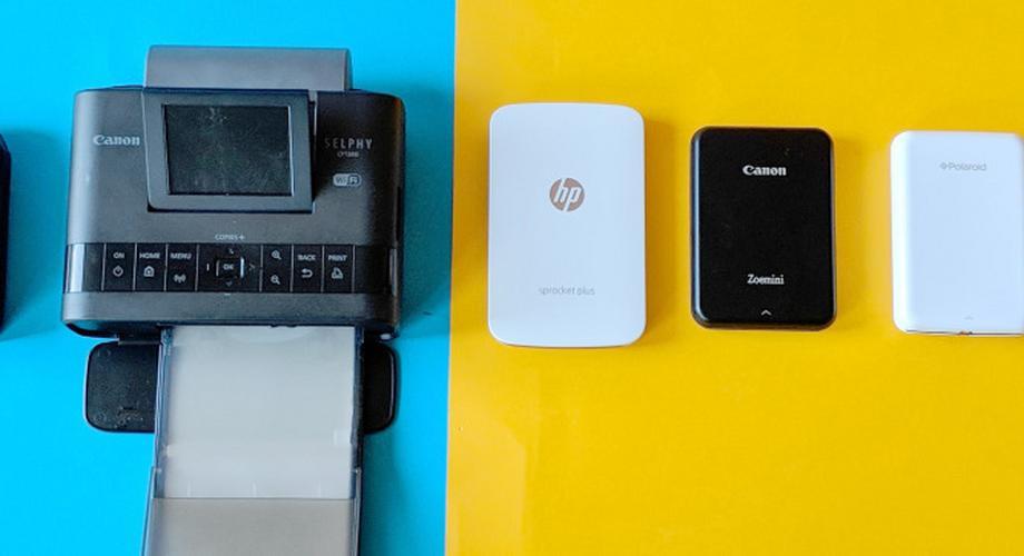 Vergleichstest 2020: Zehn mobile Mini-Fotodrucker