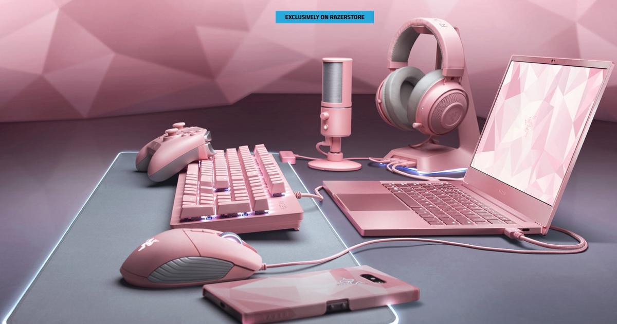 Akcesoria dla graczy na Walentynki! Różowe peryferia Razer