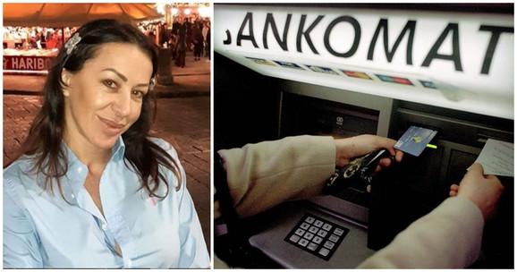 Romana Panić pljačkala bankomate