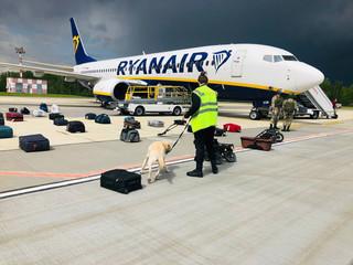 Białoruś publikuje nagranie rozmów pilota Ryanair z kontrolerami w Mińsku