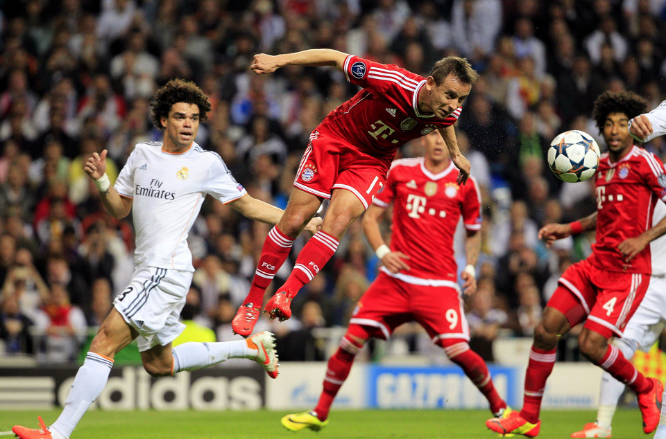 SPAIN SOCCER UEFA CHAMPIONS LEAGUE (Real Madrid vs Bayern Munich)