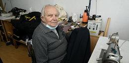 Zobacz, jak wrocławianie uratowali zakład 92-letniego krawca!