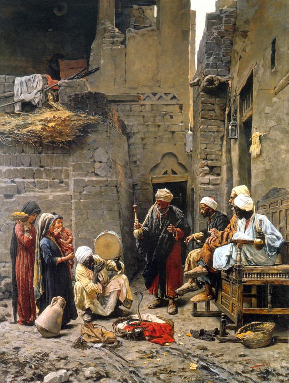 """""""Ukrotitelj zmija"""" Paje Jovanovića (1859-1957)"""