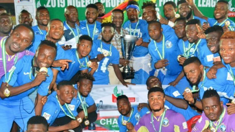 Enyimba who won the title in 2019 remain the defending champions  (Twitter/Enyimba)
