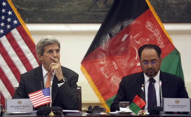John Kerry z wizytą w Afganistanie