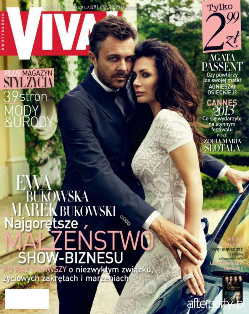 """""""Viva"""" nr 12/2013, na zdjęciu: Ewa i Marek Bukowscy"""