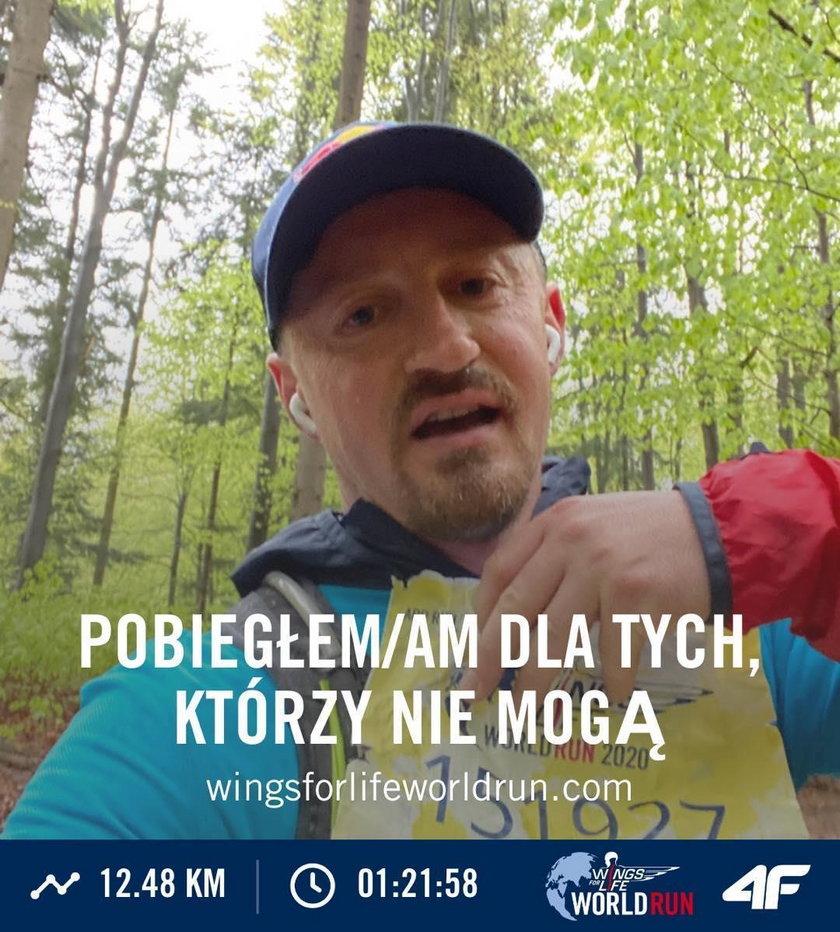 Adam Małysz przebiegł ponad 12 km