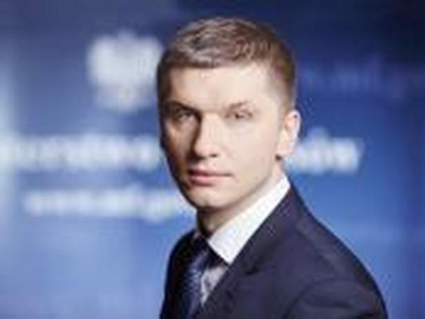 Piotr Nowak, wiceminister finansów odpowiedzialny za emisje obligacji i rynek kapitałowy