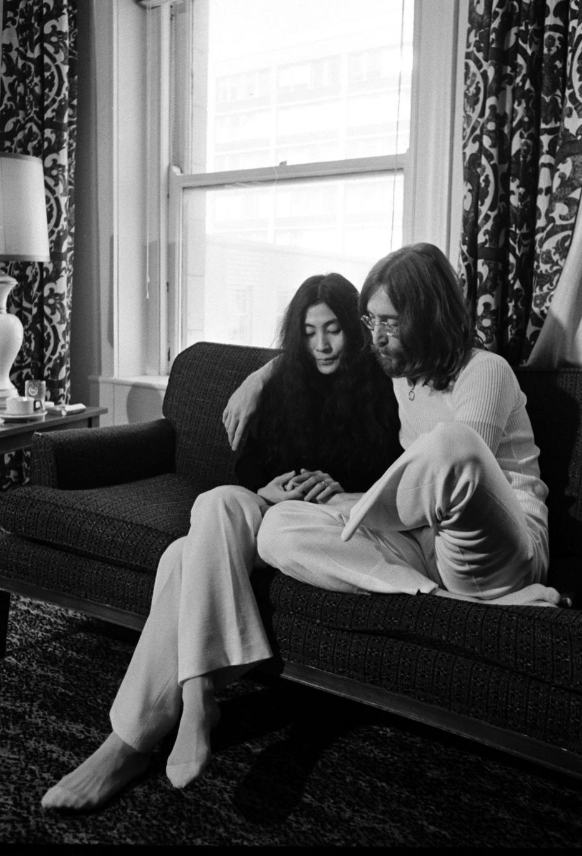 Yoko Ono és JohnLennon – 1968-ban ismerkedtek meg, majd egy évre rá összeházasodtak/ Foto: Northfotos