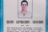 Vesna Zdravković Simović Vranje umrlica 2