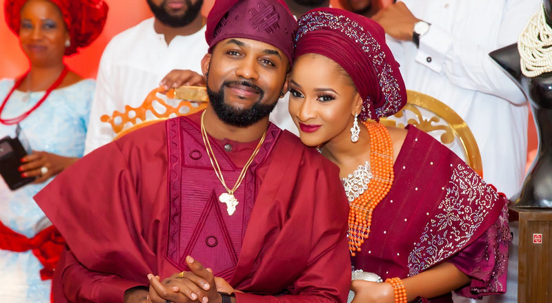 Banky W and Adesua Etomi celebrate 3rd introduction anniversary