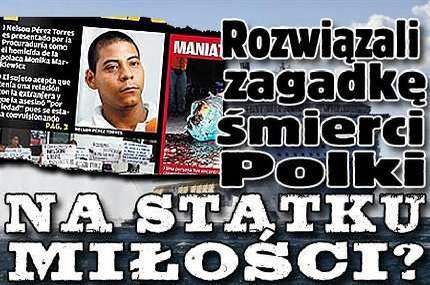 Rozwiązali zagadkę śmierci Polki na statku miłości?