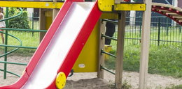 2-latek poparzył się żrąca substancja na placu zabaw