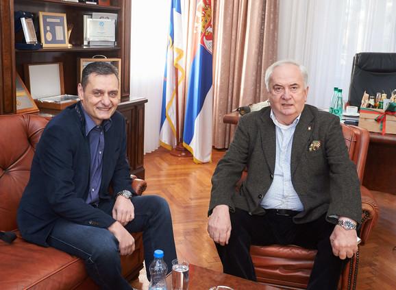Zoran Terzić i Božidar Maljković u našoj olimpijskoj kući