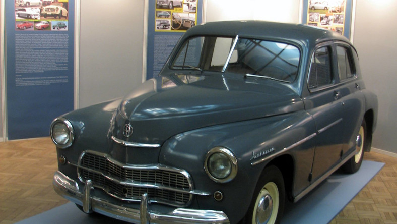 Warszawa 202 w Muzeum Techniki i Przemysłu NOT